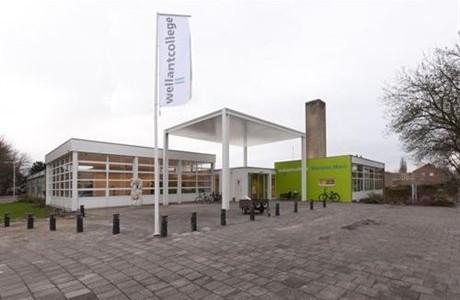 Hoofdentree Wellantcollege Westplas Aalsmeer